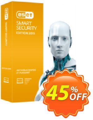 ESET Smart Security - Réabonnement 3 ans pour 2 ordinateurs 優惠券,折扣碼 ESET Smart Security - Réabonnement 3 ans pour 2 ordinateurs super offer code 2020,促銷代碼: super offer code of ESET Smart Security - Réabonnement 3 ans pour 2 ordinateurs 2020