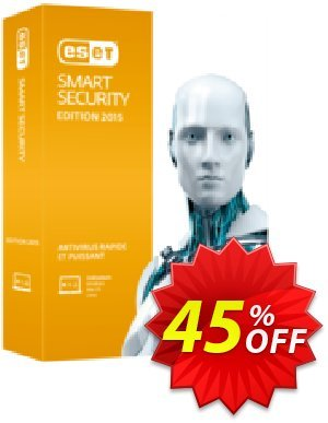 ESET Smart Security - Réabonnement 3 ans pour 3 ordinateurs 프로모션 코드 ESET Smart Security - Réabonnement 3 ans pour 3 ordinateurs best discount code 2020 프로모션: best discount code of ESET Smart Security - Réabonnement 3 ans pour 3 ordinateurs 2020