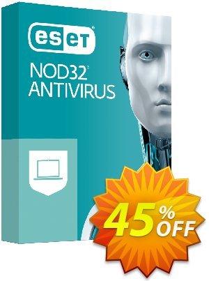 NOD32 Antivirus - Réabonnement 3 ans pour 1 ordinateur discount coupon NOD32 Antivirus - Réabonnement 3 ans pour 1 ordinateur special promotions code 2020 - special promotions code of NOD32 Antivirus - Réabonnement 3 ans pour 1 ordinateur 2020