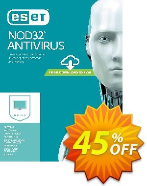 NOD32 Antivirus - Réabonnement 3 ans pour 2 ordinateurs discount coupon NOD32 Antivirus - Réabonnement 3 ans pour 2 ordinateurs exclusive sales code 2020 - exclusive sales code of NOD32 Antivirus - Réabonnement 3 ans pour 2 ordinateurs 2020