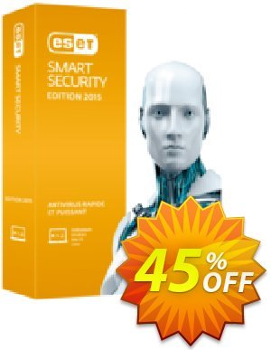 ESET Smart Security - Nouvelle licence 1 an pour 1 ordinateur - Promo 50% discount coupon ESET Smart Security - Nouvelle licence 1 an pour 1 ordinateur - Promo 50% excellent promotions code 2020 - excellent promotions code of ESET Smart Security - Nouvelle licence 1 an pour 1 ordinateur - Promo 50% 2020