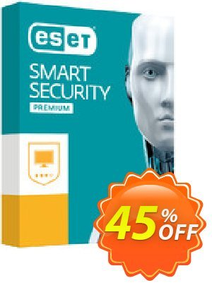 ESET Smart Security Premium -  1 Device 1 Year discount coupon ESET Smart Security Premium - Abonnement 1 ordinateur 1 an staggering discounts code 2021 - staggering discounts code of ESET Smart Security Premium - Abonnement 1 ordinateur 1 an 2021