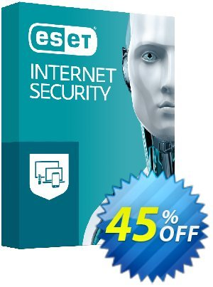 ESET Internet Security - Reabonnement 3 ans pour 5 ordinateurs Coupon discount ESET Internet Security - Reabonnement 3 ans pour 5 ordinateurs formidable discounts code 2019 - formidable discounts code of ESET Internet Security - Reabonnement 3 ans pour 5 ordinateurs 2019