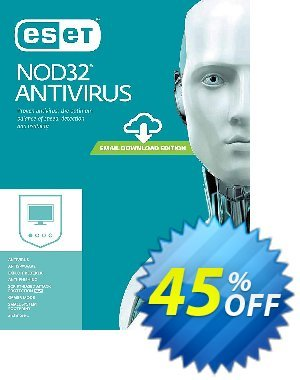 NOD32 Antivirus - Réabonnement 1 an pour 3 ordinateurs discount coupon NOD32 Antivirus - Réabonnement 1 an pour 3 ordinateurs super discounts code 2020 - super discounts code of NOD32 Antivirus - Réabonnement 1 an pour 3 ordinateurs 2020