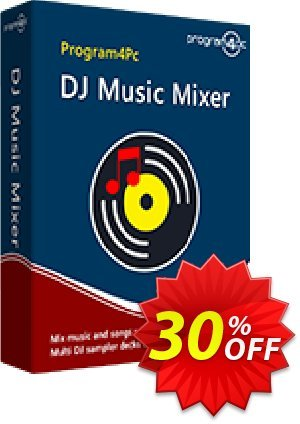 Program4Pc DJ Music Mixer 프로모션 코드 DJ Music Mixer staggering discounts code 2020 프로모션: staggering discounts code of DJ Music Mixer 2020