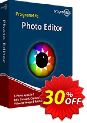 Program4Pc Photo Editor 優惠券,折扣碼 Photo Editor fearsome discount code 2020,促銷代碼: fearsome discount code of Photo Editor 2020