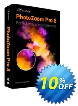 PhotoZoom Pro 8 Coupon, discount PhotoZoom Pro 8 fearsome offer code 2019. Promotion: fearsome offer code of PhotoZoom Pro 8 2019