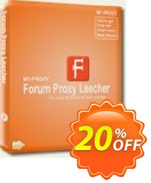 Forum Proxy Leecher Coupon, discount Forum Proxy Leecher (Personal Edition) fearsome deals code 2020. Promotion: fearsome deals code of Forum Proxy Leecher (Personal Edition) 2020