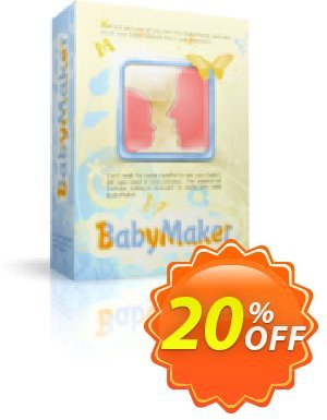 Luxand BabyMaker Coupon, discount BabyMaker wonderful promotions code 2019. Promotion: wonderful promotions code of BabyMaker 2019