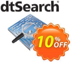 dtSearch Engine (4+ servers) Coupon, discount dtSearch Engine (Win) 4+ servers Impressive discounts code 2020. Promotion: Impressive discounts code of dtSearch Engine (Win) 4+ servers 2020