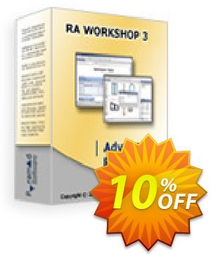 RA Workshop Advanced Professional Edition Coupon, discount RA Workshop Advanced Professional Edition awful discounts code 2019. Promotion: awful discounts code of RA Workshop Advanced Professional Edition 2019