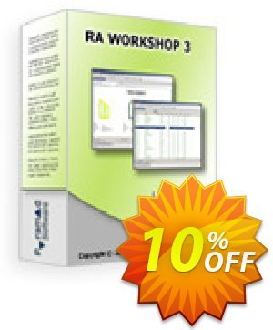 RA Workshop Express Edition Coupon, discount RA Workshop Express Edition exclusive discounts code 2020. Promotion: exclusive discounts code of RA Workshop Express Edition 2020