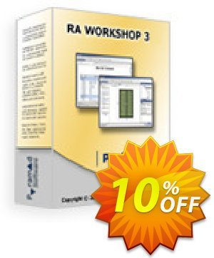 RA Workshop Professional Edition Coupon, discount RA Workshop Professional Edition dreaded offer code 2020. Promotion: dreaded offer code of RA Workshop Professional Edition 2020