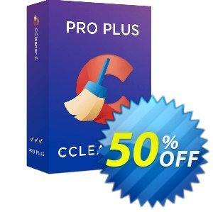 CCleaner Professional Plus Coupon discount 50% OFF CCleaner Professional Plus 2020. Promotion: Special deals code of CCleaner Professional Plus, tested in {{MONTH}}