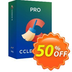 CCleaner Professional discount coupon 50% OFF CCleaner Professional 2020 - Special deals code of CCleaner Professional, tested in {{MONTH}}