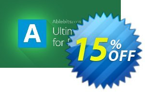 AbleBits Ultimate Suite for Excel - Business edition Coupon, discount AbleBits.com Ultimate Suite 2021 for Excel, Business edition formidable promo code 2021. Promotion: formidable promo code of AbleBits.com Ultimate Suite 2021 for Excel, Business edition 2021