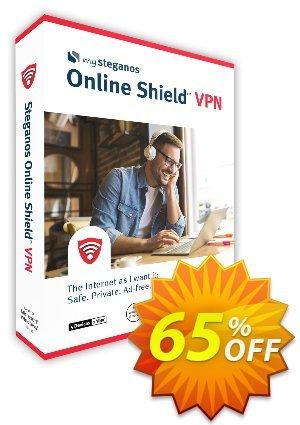 Steganos Online Shield VPN kode diskon 65% OFF Steganos Online Shield VPN, verified Promosi: Wonderful promo code of Steganos Online Shield VPN, tested & approved