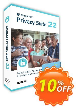 Steganos Privacy Suite 17 (ES) Coupon, discount Steganos Privacy Suite 17 (ES) exclusive promotions code 2019. Promotion: exclusive promotions code of Steganos Privacy Suite 17 (ES) 2019