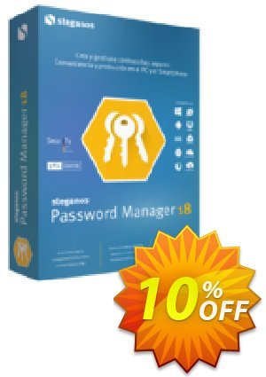 Steganos Password Manager 18 (ES) Coupon, discount Steganos Password Manager 18 (ES) imposing sales code 2021. Promotion: imposing sales code of Steganos Password Manager 18 (ES) 2021