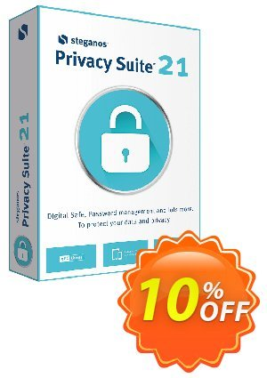 Steganos Privacy Suite 18 (PT) offering sales