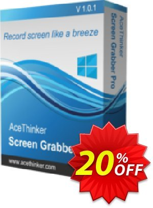 Acethinker Screen Grabber Pro Coupon, discount Screen Grabber Pro (Personal - 1 year) stunning discount code 2020. Promotion: stunning discount code of Screen Grabber Pro (Personal - 1 year) 2020