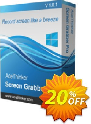 Acethinker Screen Grabber Pro lifetime割引コード・Screen Grabber Pro (Personal - lifetime) staggering promo code 2020 キャンペーン:staggering promo code of Screen Grabber Pro (Personal - lifetime) 2020