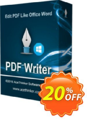 Acethinker PDF Writer lifetime (Academic) discount coupon PDF Writer (Academic - lifetime) awful sales code 2020 - awful sales code of PDF Writer (Academic - lifetime) 2020