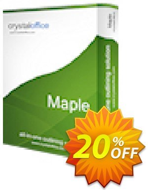 Maple Coupon, discount Maple dreaded discount code 2020. Promotion: dreaded discount code of Maple 2020