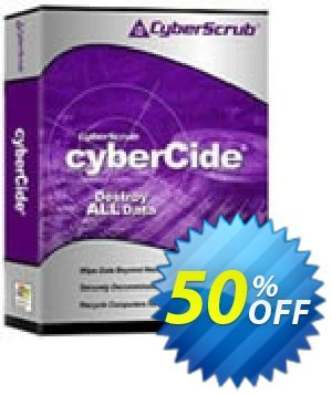 CyberScrub cyberCide Coupon, discount CyberScrub cyberCide exclusive discounts code 2021. Promotion: exclusive discounts code of CyberScrub cyberCide 2021