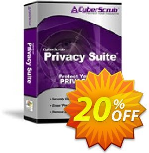 Cyberscrub Privacy Suite Coupon discount Cyberscrub Privacy Suite 5.1 with 1 Yr Subscription imposing deals code 2020. Promotion: imposing deals code of Cyberscrub Privacy Suite 5.1 with 1 Yr Subscription 2020