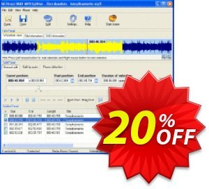 Pistonsoft Direct WAV MP3 Splitter discount coupon Direct WAV MP3 Splitter (Personal License) super offer code 2020 - super offer code of Direct WAV MP3 Splitter (Personal License) 2020