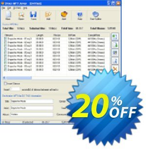 Pistonsoft Direct MP3 Joiner discount coupon Direct MP3 Joiner (Personal License) wondrous discounts code 2020 - wondrous discounts code of Direct MP3 Joiner (Personal License) 2020