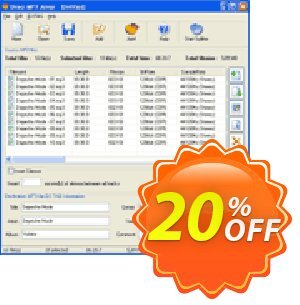 Pistonsoft Direct MP3 Joiner (Business) discount coupon Direct MP3 Joiner (Business License) awful sales code 2020 - awful sales code of Direct MP3 Joiner (Business License) 2020
