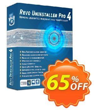 Revo Uninstaller PRO Coupon discount 50% off REVO ALL software -