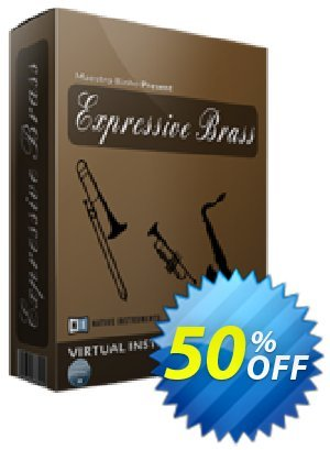Expressive Brass Coupon, discount 50%. Promotion: wondrous discount code of Expressive Brass 2019