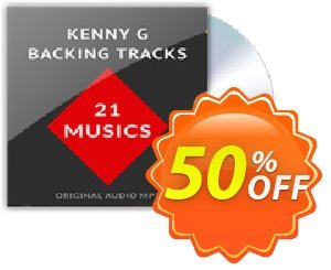 Backing Tracks Kenny G - MP3 Coupon, discount 50%. Promotion: amazing discount code of Backing Tracks Kenny G - MP3 2019