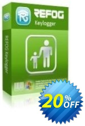 REFOG Keylogger - 1 License Coupon, discount REFOG Keylogger - 1 License Stirring offer code 2020. Promotion: Stirring offer code of REFOG Keylogger - 1 License 2020