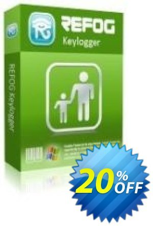 REFOG Keylogger - 3 License Coupon, discount REFOG Keylogger - 3 License Awful sales code 2020. Promotion: Awful sales code of REFOG Keylogger - 3 License 2020