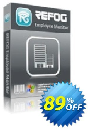 REFOG Employee Monitor - 50 Licenses Coupon, discount REFOG Employee Monitor - 50 Licenses Super promo code 2020. Promotion: Super promo code of REFOG Employee Monitor - 50 Licenses 2020
