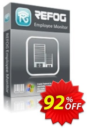 REFOG Employee Monitor - 100 Licenses Coupon, discount REFOG Employee Monitor - 100 Licenses Hottest sales code 2019. Promotion: Hottest sales code of REFOG Employee Monitor - 100 Licenses 2019