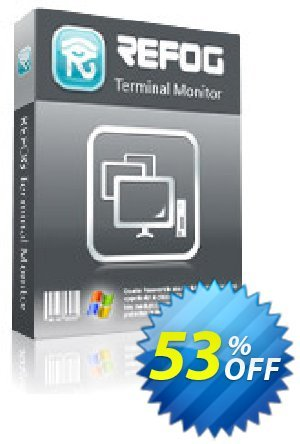 REFOG Terminal Monitor - for Windows Coupon discount REFOG Coupon Terminal edtion -