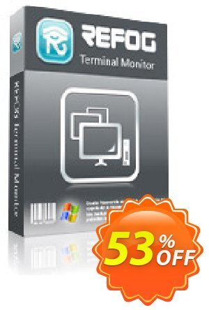 REFOG Terminal Monitor - for Windows discount coupon REFOG Coupon Terminal edtion -