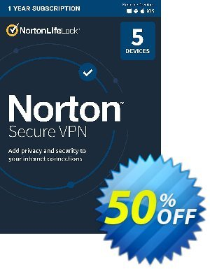 Norton Secure VPN Coupon discount 50% OFF Norton Secure VPN, verified. Promotion: Formidable deals code of Norton Secure VPN, tested & approved