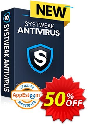Systweak Antivirus Multi-Device discount coupon 50% OFF Systweak Antivirus Multi-Device, verified - Fearsome offer code of Systweak Antivirus Multi-Device, tested & approved
