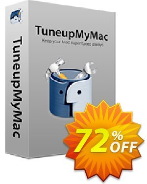 TuneupMyMac Coupon discount 72% OFF TuneupMyMac, verified. Promotion: Fearsome offer code of TuneupMyMac, tested & approved