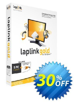Laplink GOLD discount coupon 30% OFF Laplink GOLD, verified - Excellent promo code of Laplink GOLD, tested & approved