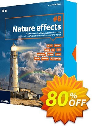 Nature effects 8 優惠券,折扣碼 15% OFF Nature effects 8, verified,促銷代碼: Awful sales code of Nature effects 8, tested & approved