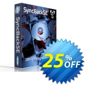 SyncBackSE割引コード・25% OFF SyncBackSE, verified キャンペーン:Best promo code of SyncBackSE, tested & approved
