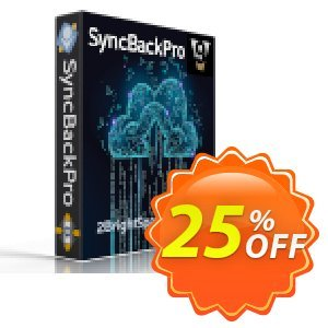 SyncBackPro Coupon, discount 25% OFF SyncBackPro, verified. Promotion: Best promo code of SyncBackPro, tested & approved