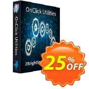 OnClick Utilities 프로모션 코드 25% OFF OnClick Utilities, verified 프로모션: Best promo code of OnClick Utilities, tested & approved